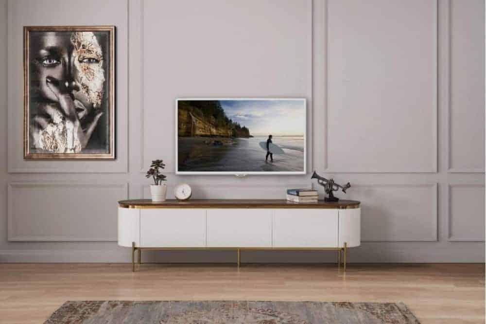 modern tv uniteleri tesla beyaz modern tv unitesi 4 973 sitelerankara com pakel mobilya